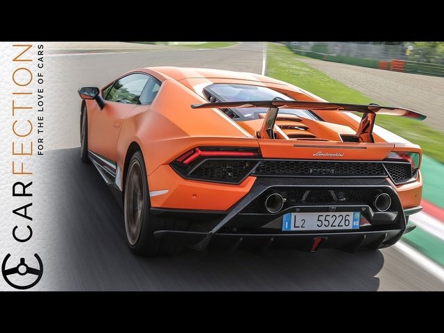 <em>Lamborghini</em> Huracan Performante: On The Track In An Active-Aero Masterpiece - Carfection