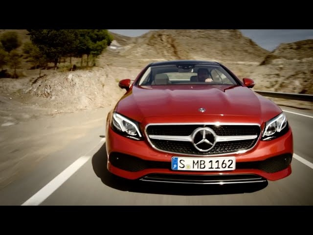 2018 <em>Mercedes</em>-Benz E-Class Coupe - First Look