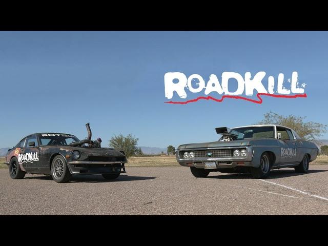 Blown Impala vs. Turbo Rotsun! -Roadkill Ep. 65