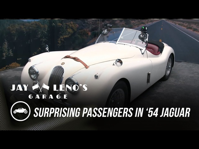 Jay Leno Surprises Passengers in His '54 <em>Jaguar</em> - Jay Leno's Garage