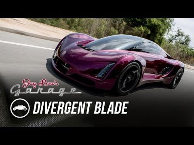 2015 Divergent Blade -Jay Leno's Garage