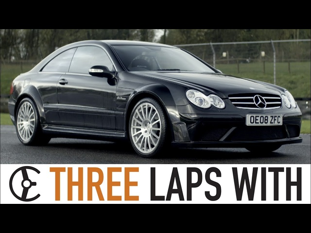 Mercedes-Benz CLK63 AMG Black Series: Three Laps With - Carfection