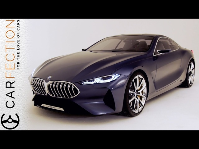 <em>BMW</em> 8 Series Concept: Designer Tour - Carfection