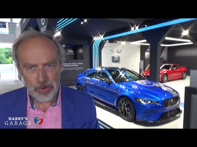 Jaguar XE SV Project 8 first look