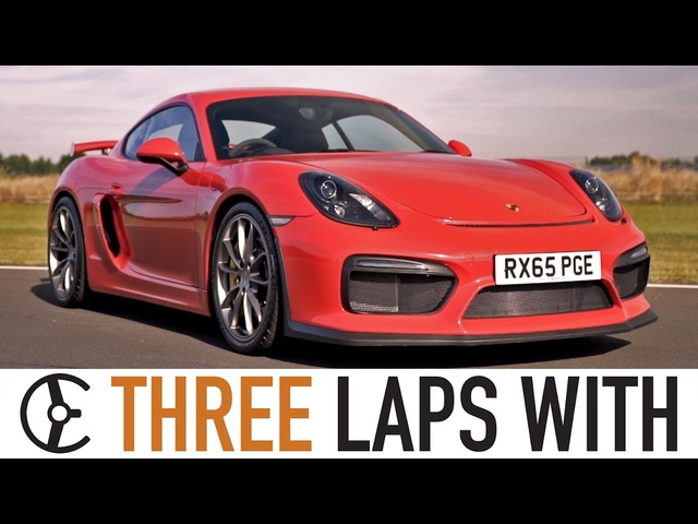 Porsche Cayman GT4: Three Laps With - Carfection