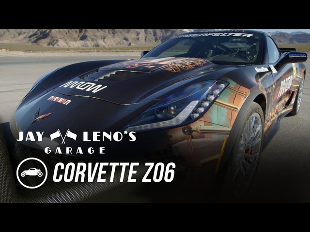 Quadriplegic Drives 2016 Corvette Z06 - Jay Leno's Garage
