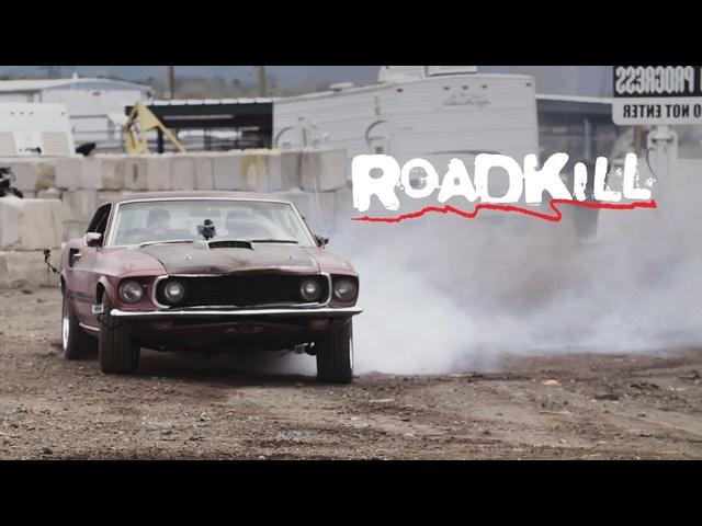 Junkyard-Rescue 1969 Mustang Mach 1! -Roadkill Ep. 66