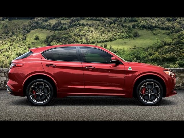 2018 Alfa Romeo Stelvio -First Look