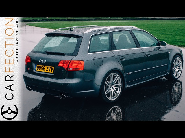 Audi B7 RS4: History Of The Audi RS Wagons PART 4/6 - Carfection