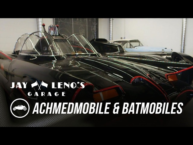 Inside Jeff Dunham's Garage: Achmedmobile & Batmobiles - Jay Leno's Garage