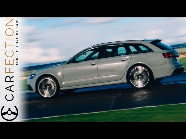 Audi C7 RS6: History Of The Audi RS Wagons PART 6/6 - Carfection