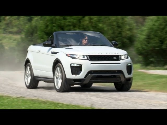 2017 Range Rover Evoque Convertible - Complete Review