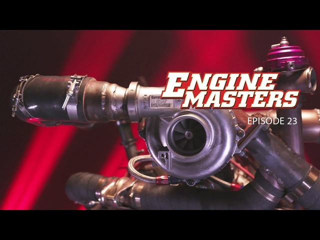 Powerstroke Turbo on a Ford 5.0! - Engine Masters Ep. 23