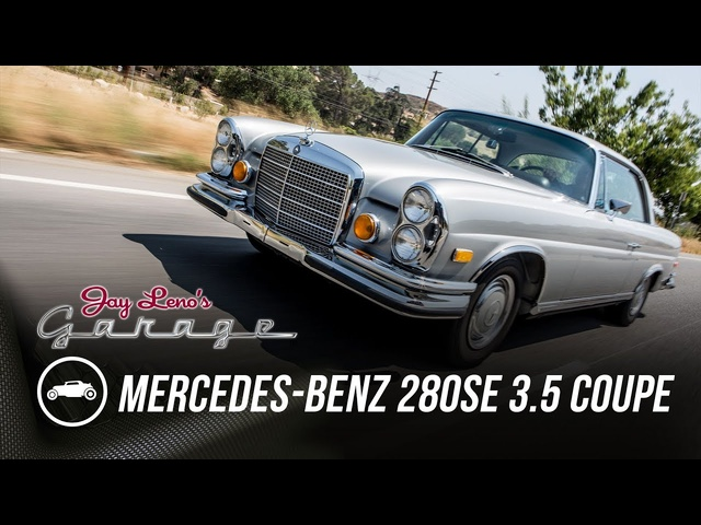 1971 <em>Mercedes</em>-Benz 280SE 3.5 Coupe - Jay Leno's Garage