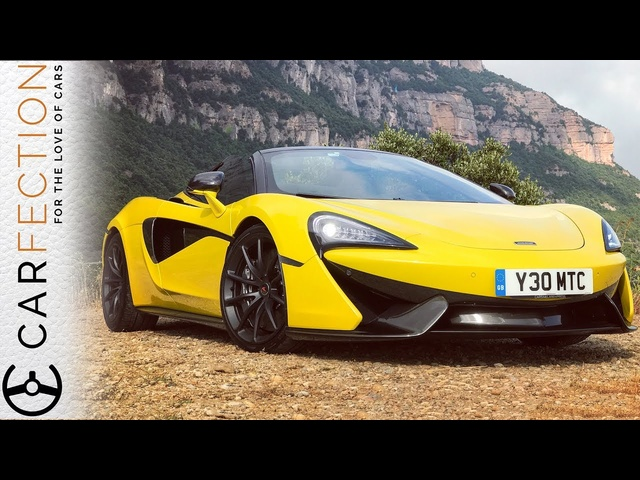 McLaren 570S Spider: Why Would You Want Anything Else? - Carfection