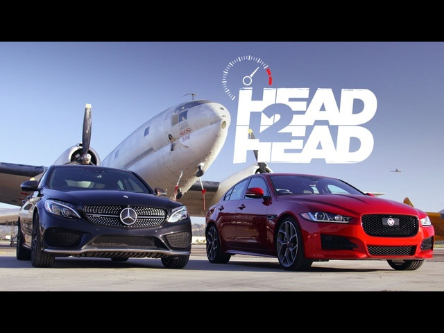 2017 Jaguar XE 35t vs. 2017 <em>Mercedes</em>-AMG C43 - Head 2 Head Ep. 91