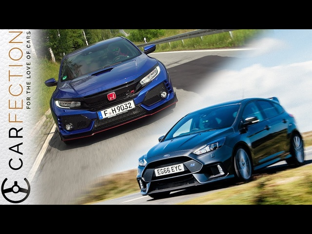 2018 Honda Civic Type R Vs <em>Ford</em> Focus RS - Carfection