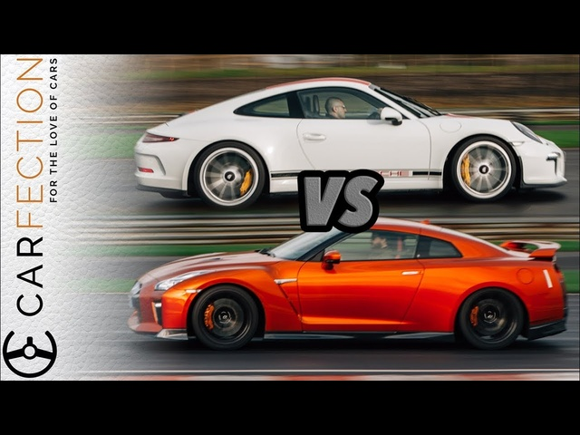 Porsche 911R Vs Nissan GT-R: Analogue Vs Digital - Carfection