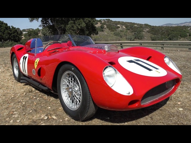 Driving a Le Mans Winning 1960 Ferrari TR250 59/60 - 2017 Pebble Beach Week