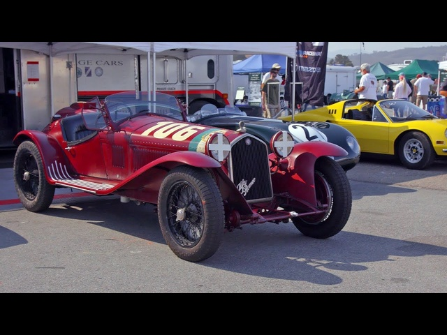 Racing a 1932 Alfa Romeo 8C with Alain de Cadenet! - 2017 Pebble Beach Week