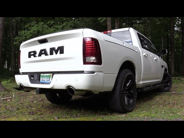Pure Sound: 2017 Ram 1500 Night Edition w/ Mopar Exhaust & Cold Air Intake