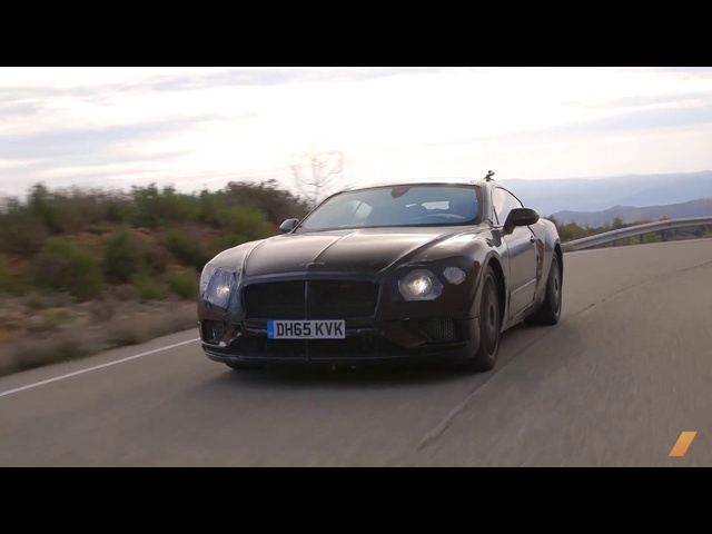 2019 <em>Bentley</em> Continental GT Prototype Testing in South Africa -- /INSIDE <em>BENTLEY</em>