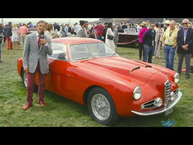 1954 1900 CSS Alfa Romeo Zagato Coupe! - 2017 Pebble Beach Week