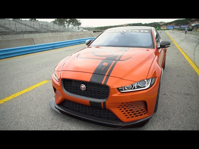 Jaguar XE SV Project 8 -Rolex Monterey Motorsports Reunion!