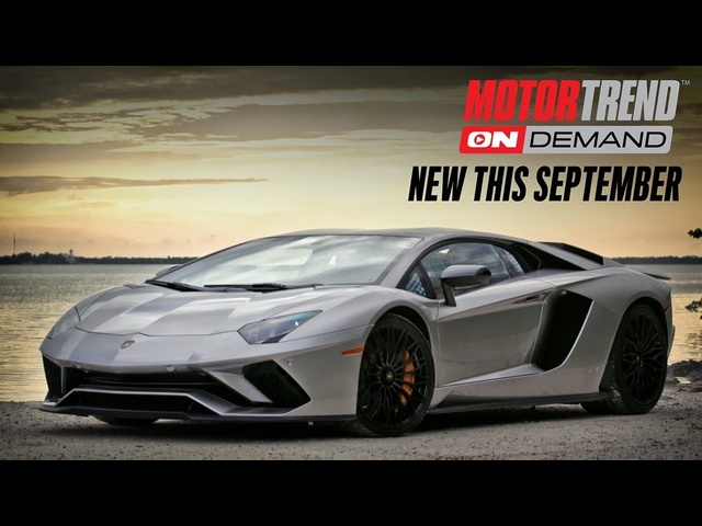 New This September 2017 on Motor Trend OnDemand