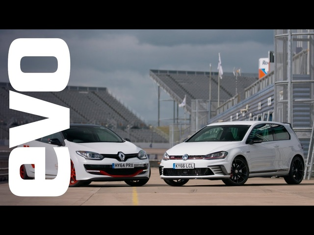 Renaultsport Mégane 275 Trophy-R v VW Golf GTI Clubsport S | evo Track Review