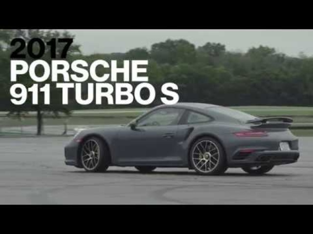 Porsche 911 Turbo S Hot Lap at VIR | Lightning Lap 2017 | Car and Driver