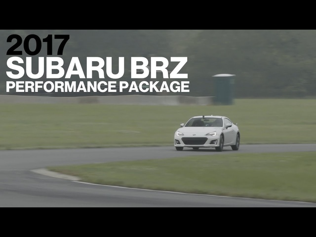 Subaru BRZ w/ Performance Pack Hot Lap at VIR | Lightning Lap 2017 | Car and Driver