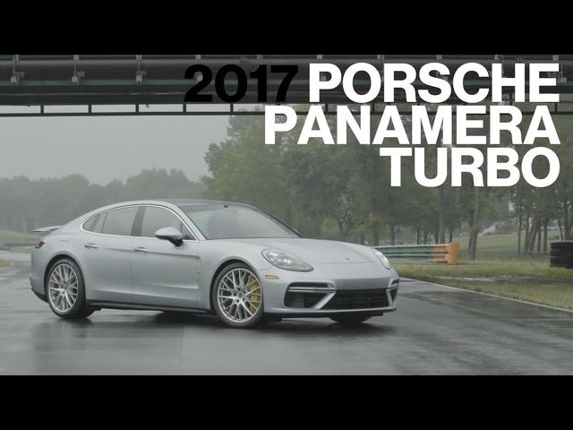 <em>Porsche</em> Panamera Turbo Hot Lap at VIR | Lightning Lap 2017 | Car and Driver