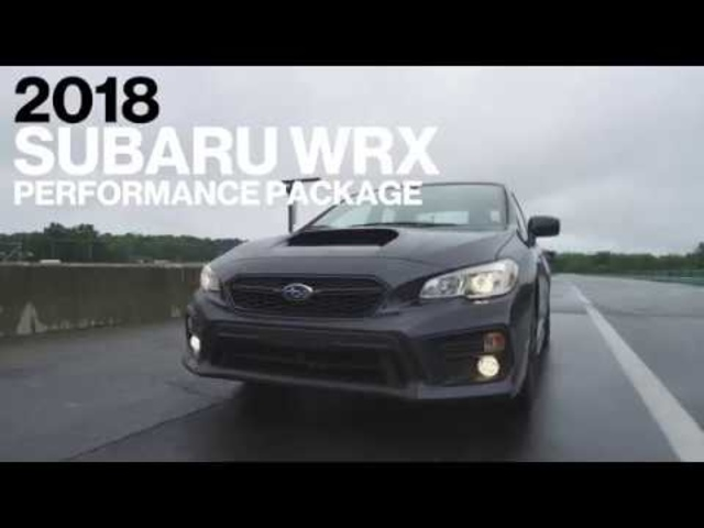 <em>Subaru</em> WRX w/ Performance Pack Hot Lap at VIR | Lightning Lap 2017 | Car and Driver