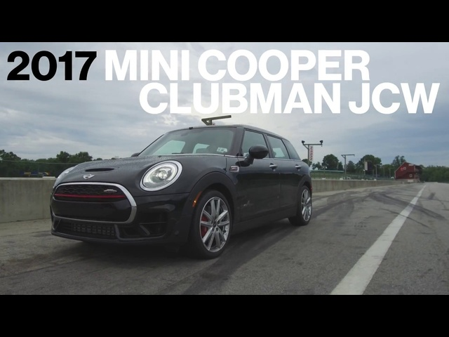 Mini Clubman JCW Hot Lap at VIR | Lightning Lap 2017 | Car and Driver