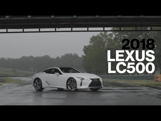 Lexus LC500 Hot Lap at VIR | Lightning Lap 2017 | Car and Driver
