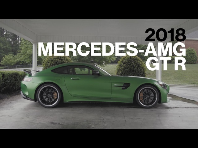 <em>Mercedes</em>-AMG GT R Hot Lap at VIR | Lightning Lap 2017 | Car and Driver