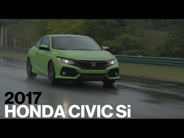 <em>Honda</em> Civic Si Hot Lap at VIR | Lightning Lap 2017 | Car and Driver