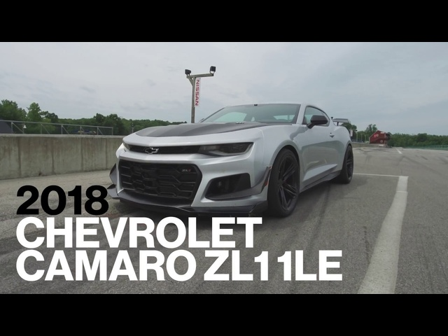 Chevrolet Camaro ZL1 1LE Hot Lap at VIR | Lightning Lap 2017 | Car and Driver
