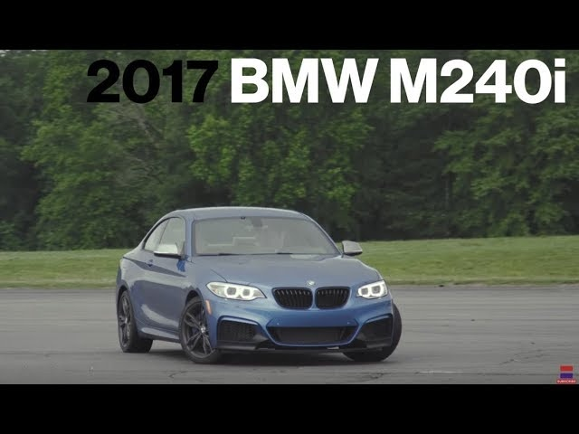 <em>BMW</em> M240i Hot Lap at VIR | Lightning Lap 2017 | Car and Driver