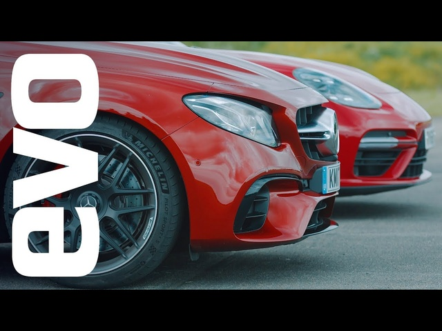 <em>Porsche</em> Panamera Turbo v Mercedes-AMG E63 S | evo drag races