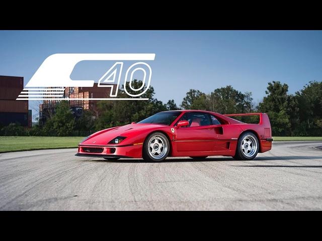 1991 Ferrari F40: Driving The Dream Car