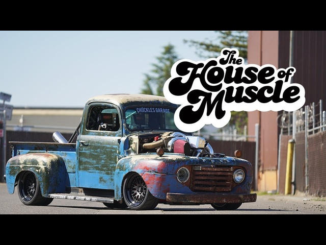 Chuckles Garage: 1949 <em>Ford</em> F1 - The House Of Muscle Ep. 10