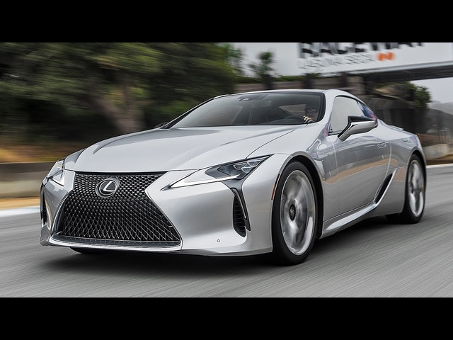2018 Lexus LC500 Hot Lap! - 2017 Best Driver's Car Contender