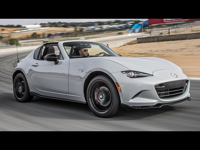 2017 Mazda MX-5 Miata RF Club Hot Lap! - 2017 Best Driver's Car Contender