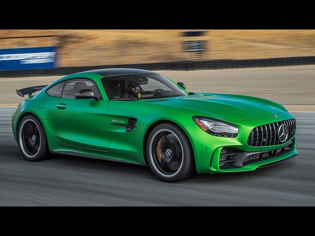 2018 <em>Mercedes</em>-AMG GT R Hot Lap! - 2017 Best Driver's Car Contender