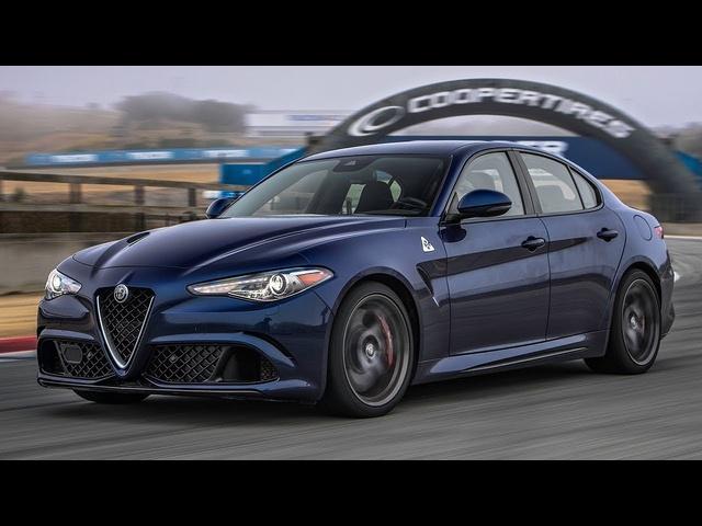 2017 Alfa Romeo Giulia Quadrifoglio Hot Lap! -2017 Best Driver's Car Contender