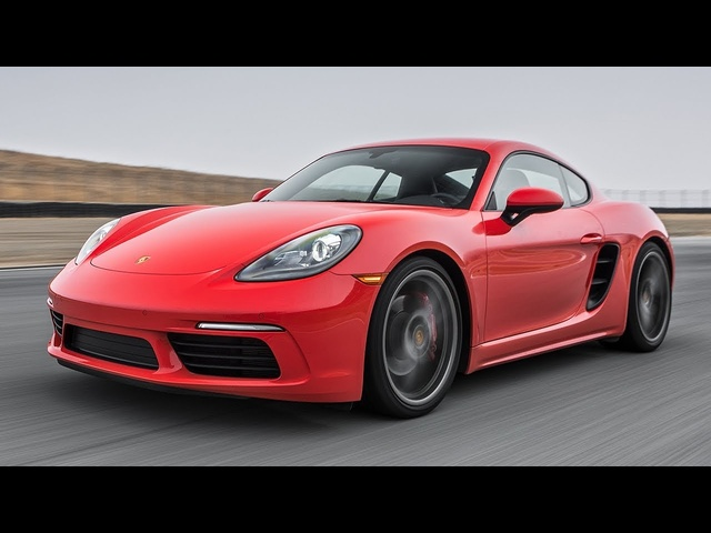 2017 <em>Porsche</em> 718 Cayman S Hot Lap! - 2017 Best Driver's Car Contender