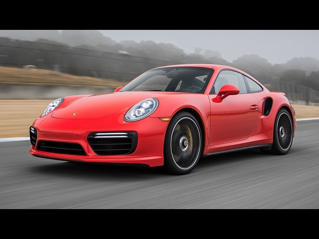 2017 Porsche 911 Turbo S Hot Lap! - 2017 Best Driver's Car Contender