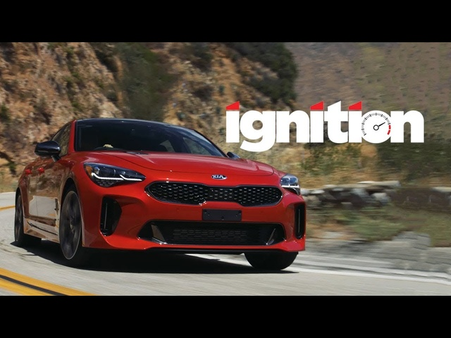 2018 <em>Kia</em> Stinger GT: Rear-Wheel Drive, Korean Style! - Ignition Ep. 181